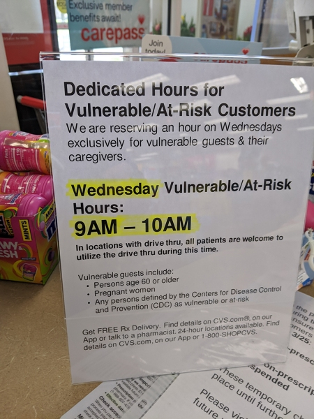 cvs at risk customers